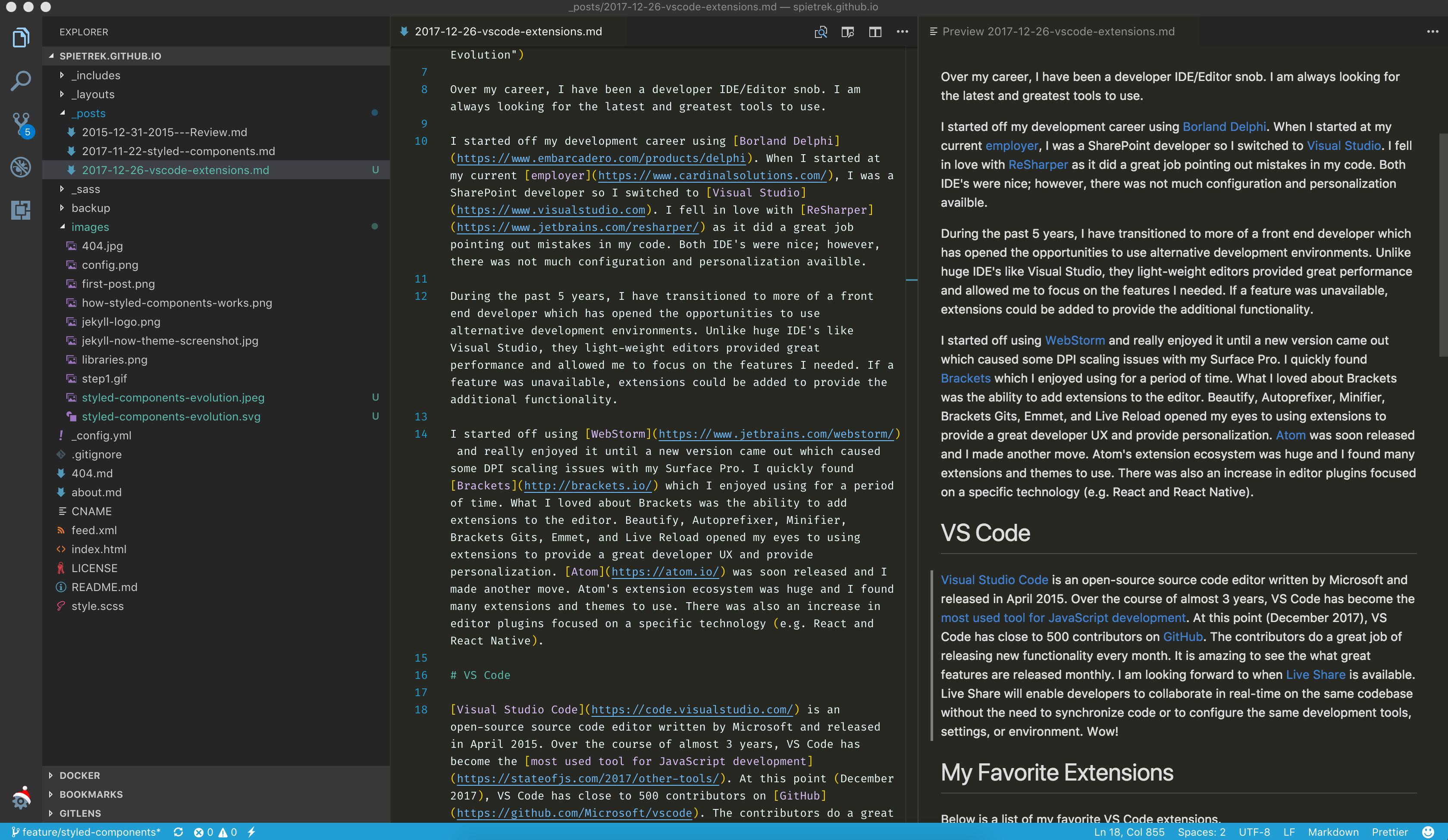 My Path to Visual Studio Code – Steve Pietrek – React, Angular, iOS
